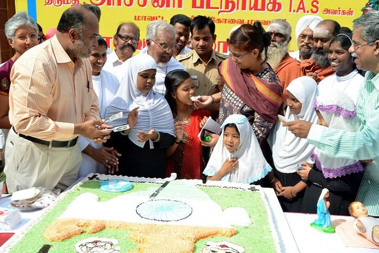 Three year old Indian flag cake comes back to haunt civil servants court orders FIR
