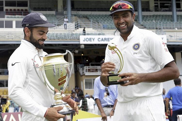 Ashwin named ICC Cricketer of the Year Kohli named skipper of the ODI team of the year