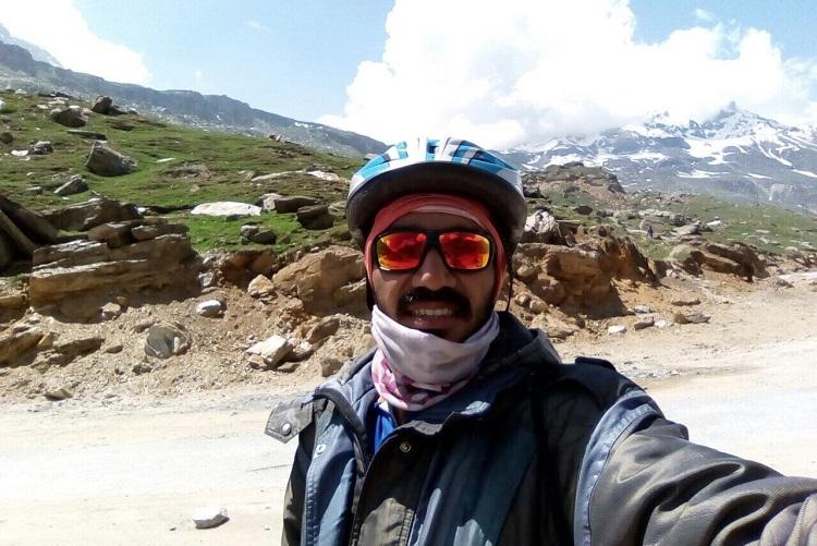 From West to East Meet the Mangaluru professor hoping to cycle 3500 kms to spread a message