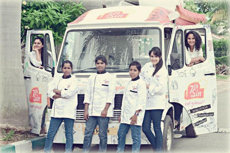 This all-women Bluru food truck is dishing out global cuisine for city foodies