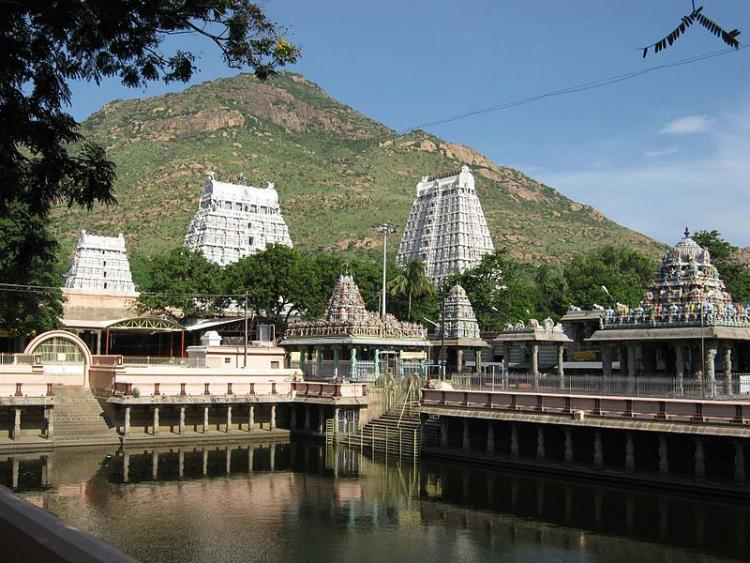 Stampede breaks out at temple in Tiruvannamalai 4 drown in temples tank