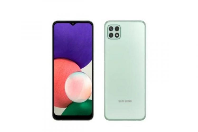 Samsung launched galaxy A22
