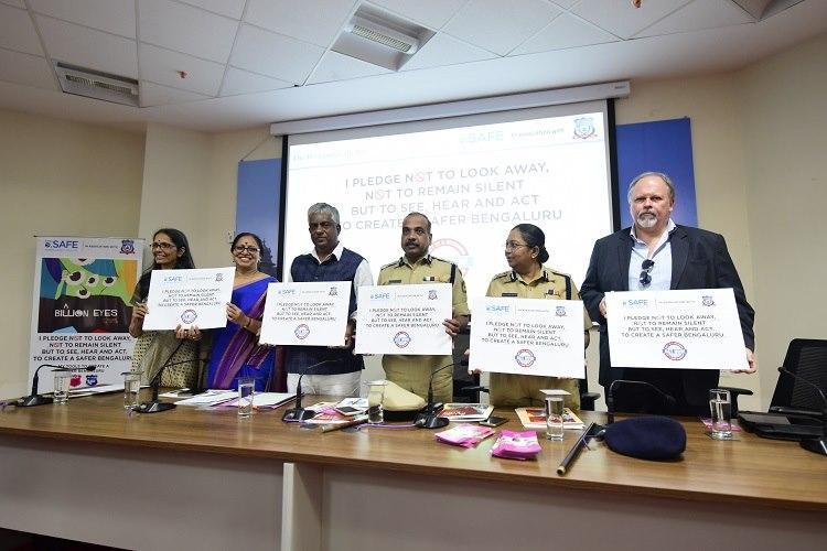 A Billion Eyes BPAC Bengaluru police launch campaign to encourage bystander intervention