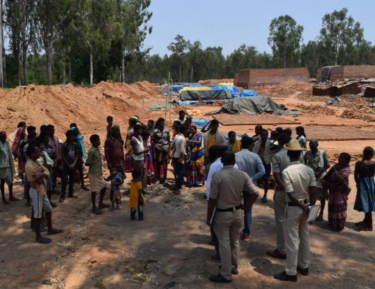 Bonded labourers in Bengaluru rescued from slavery then threatened by thugs