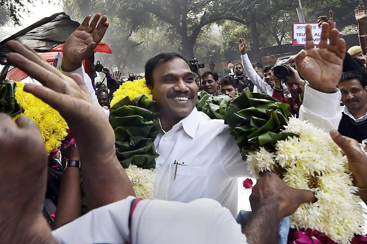 Revolutionaries often termed as criminals A Raja on 2G acquittal
