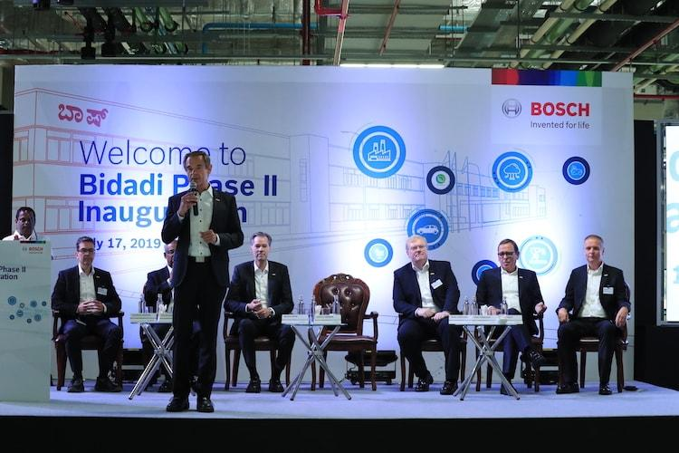 Bosch inaugurates expanded smart factory for mobility solutions near Bengaluru