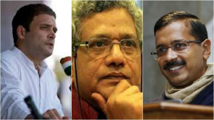 How Kejriwal Rahul and Left are slamming Modi after SC restores Arunachal govt