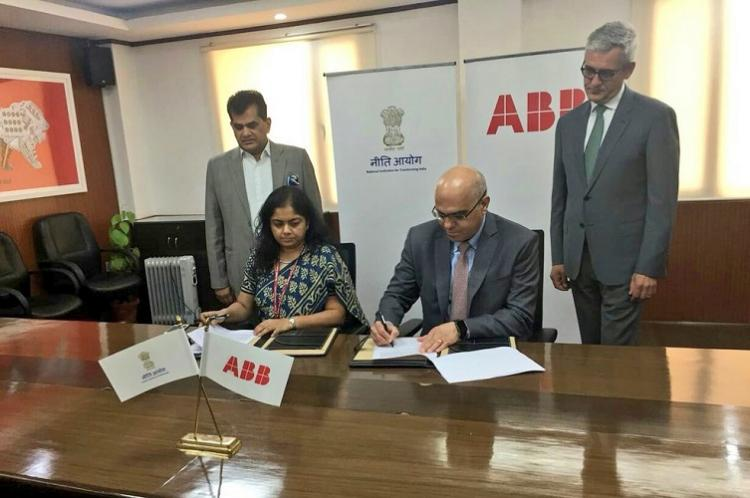 NITI Aayog partners with ABB India to adopt digitisation IoT and AI