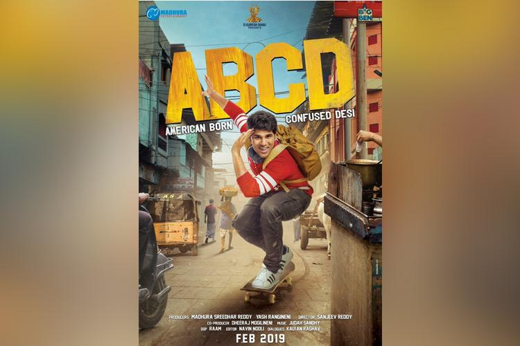 First look poster of ABCD Telugu remake out