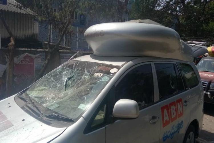 5 self-proclaimed Pawan Kalyan fans arrested for vandalising OB van