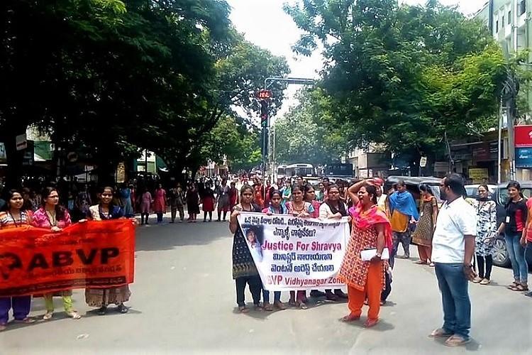 De-recognize Narayana Junior Colleges in Hyderabad ABVP demands after student suicide