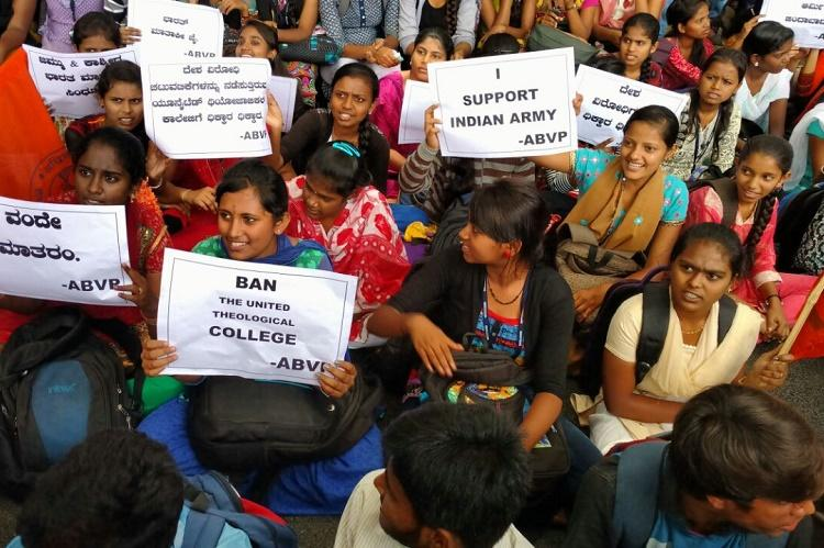 ABVP demands arrests of Amnesty representatives for organising Kashmir event in Bengaluru