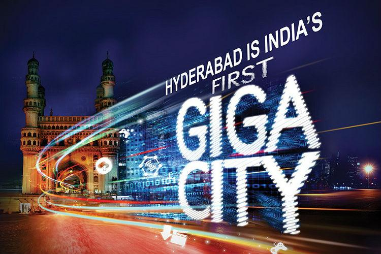 Hyderabad a Giga City now ACT launches first 1GBPS internet services in India