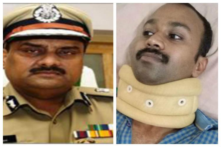 My daughter didnt assault police driver Gavaskar says ADGP Sudesh