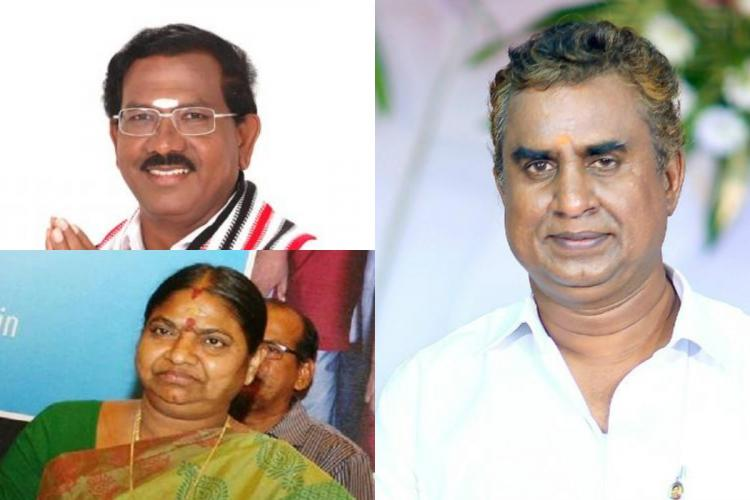 AIADMK members who have received a party ticket