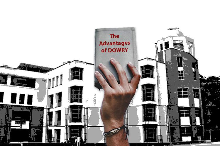Did a Bengaluru college hand out study material that says dowry helps ugly girls