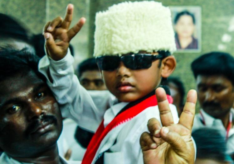 Images AIADMK celebrates MGRs birthday with renewed vigour ahead of 2016 polls