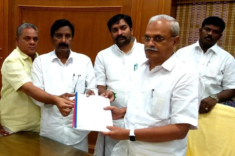 AIADMK MLA files complaint with Speaker after tiff with Puducherry LG Kiran Bedi