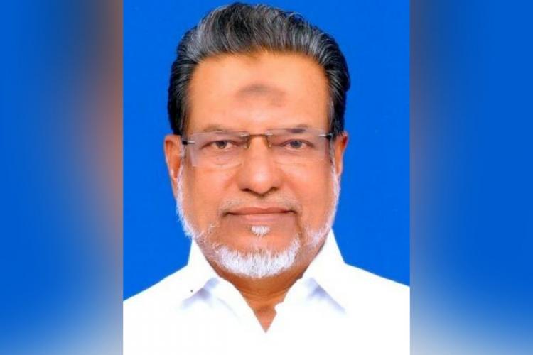 AIADMK Rajya Sabha Member of Parliament and former Tamil Nadu Minister A Mohammedjan