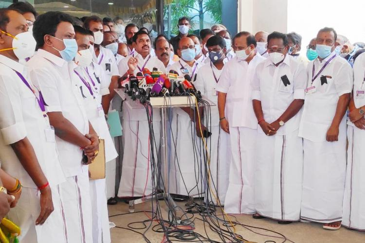 AIADMK says will support NEET Bill but blames TN govt for Dhanushs death