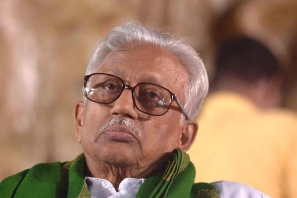 Veteran DMK leader K Anbazhagan not to contest this election