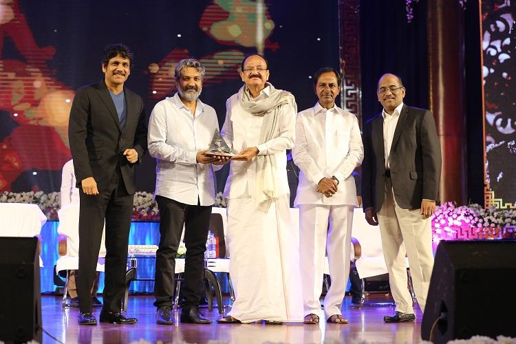 Director SS Rajamouli conferred with ANR award says its an impetus to work harder
