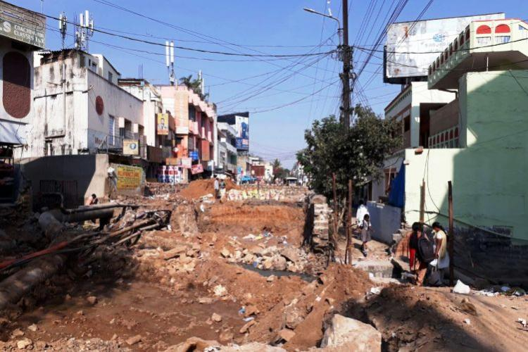 Traffic problems galore as Secunderabad board blocks arterial road for new culvert
