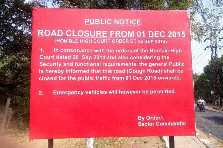 Army to close Secunderabads Gough Road for civilians from June