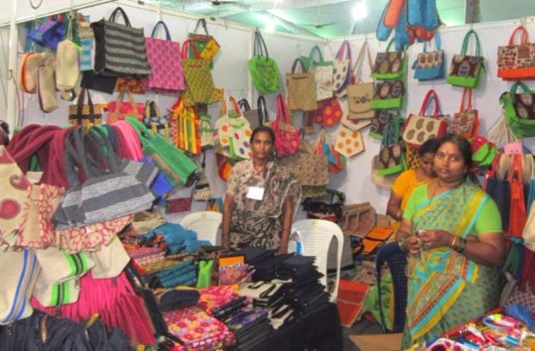 Change is possible Rural women entrepreneurs share success stories at Andhras craft bazaar