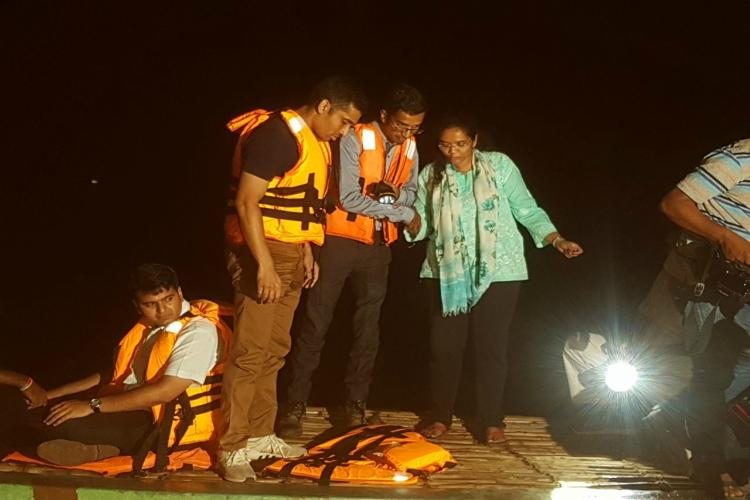 Godavari boat mishap 12 bodies recovered search on to trace missing persons