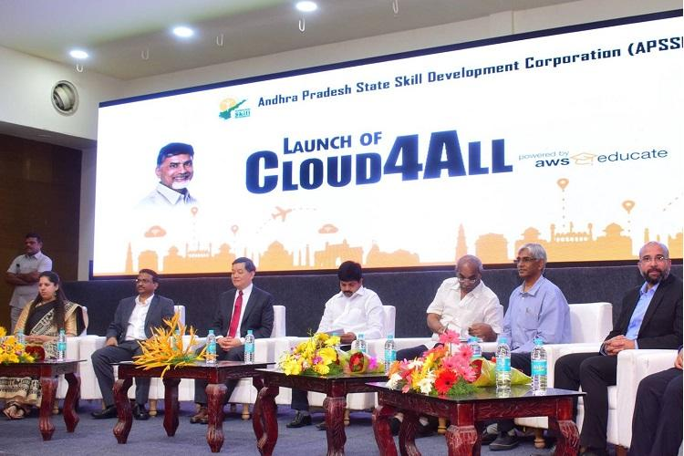 Andhra govt launches AWS Cloud-based initiative to skill 60000 students