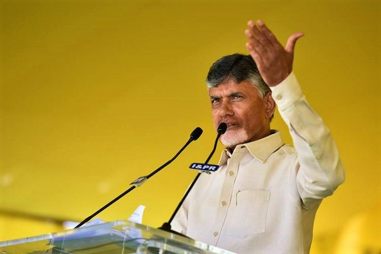 Protesting injustice to Andhra CM Naidu to sit on day-long fast in Delhi on Monday