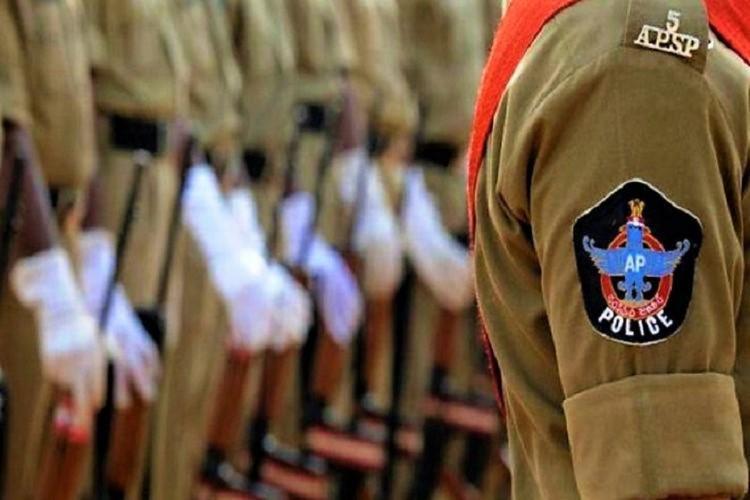 Policemen in Andhra Pradesh