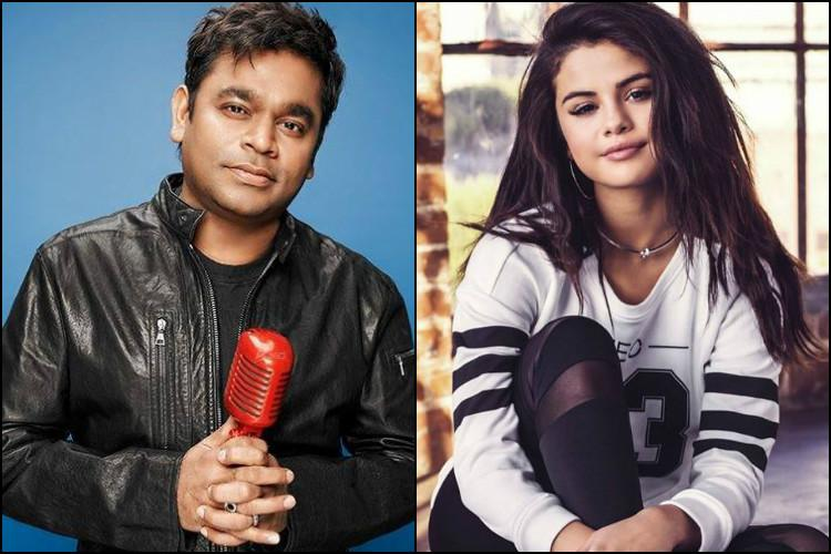 Would love to be part of AR Rahmans compositions Selena Gomez