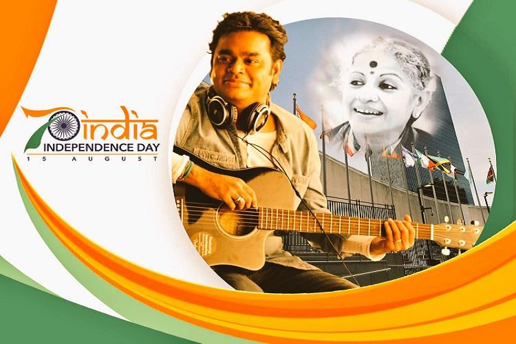 As India and the UN turn 70 Rahman tribute to MS Subbulakshmi and the nations visionary ideals