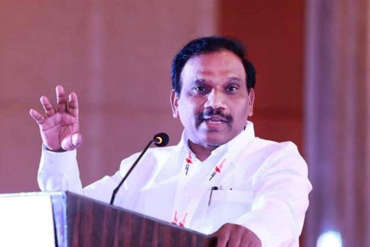 DMK MP A Raja