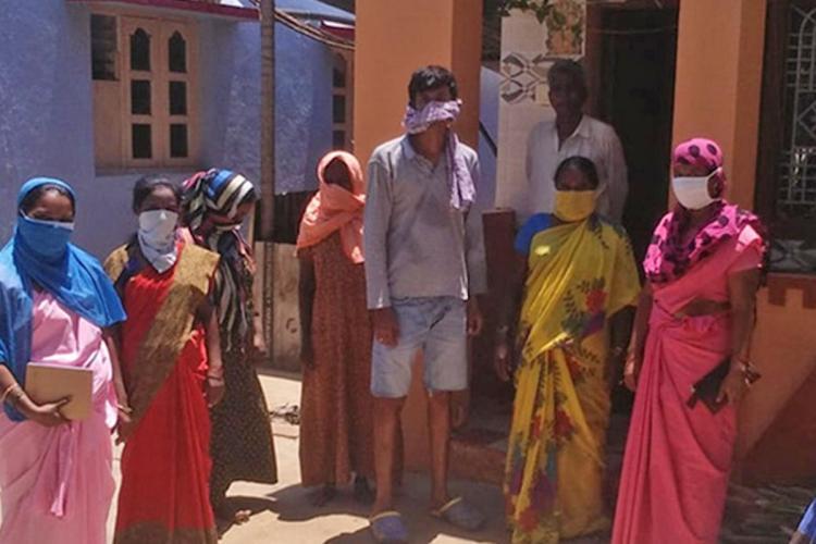 ASHA workers Davangere Karnataka