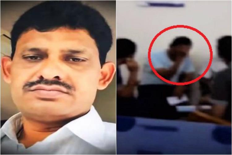 Video VIP treatment for tainted ASI Mohan Reddy in Telangana jail Officials deny