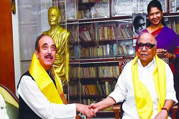 DMK-Congress seat sharing talks conclude Congress to contest 41 seats