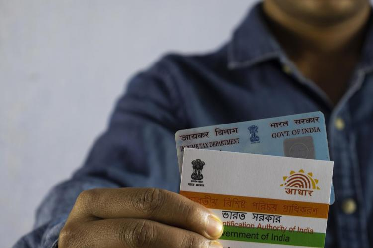 Aadhaar PVC can be ordered online for 50rs