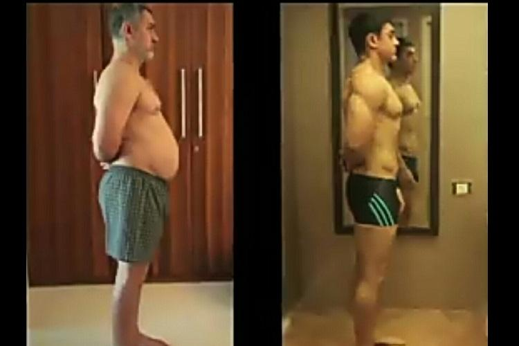 From fat to fit the Internet cant get enough of Aamir Khans transformation in Dangal