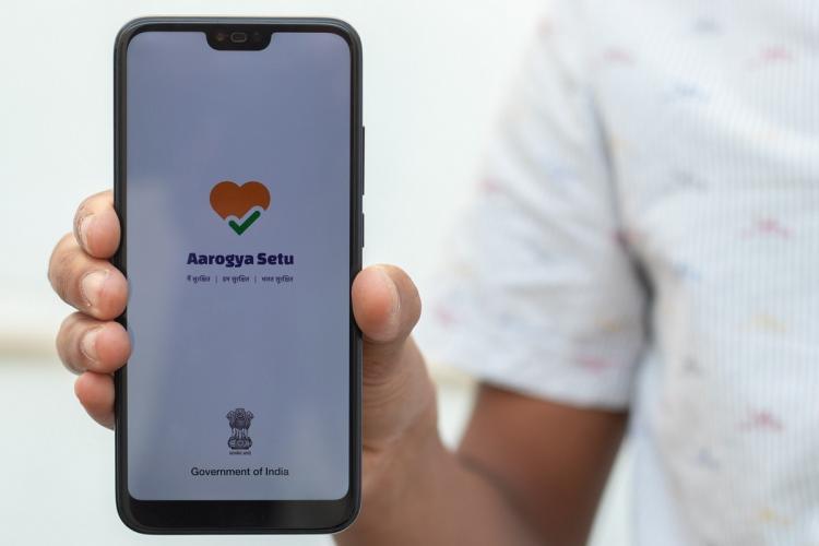 Govt has been questioned on the Aarogya Setu app