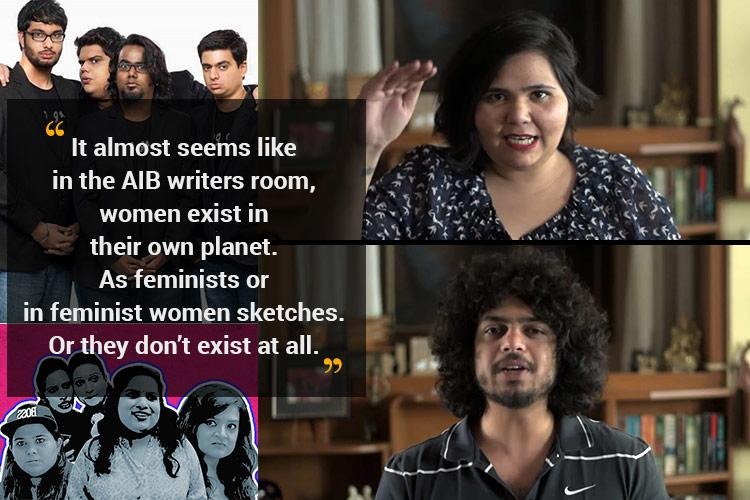 Watch Duo superbly takes down AIBs feminism comedy group thanks them for critique