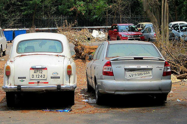 Delay in auction leaves over 100 government vehicles to rust away at Telangana Secretariat