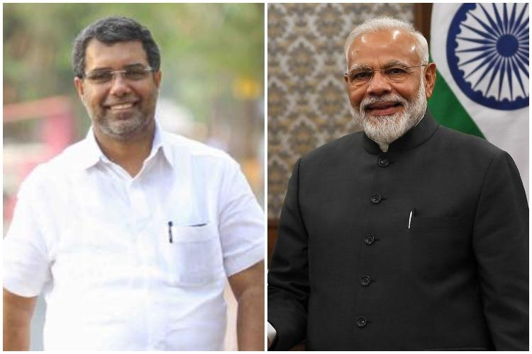 Ousted from Congress for praising PM AP Abdullakutty meets Modi