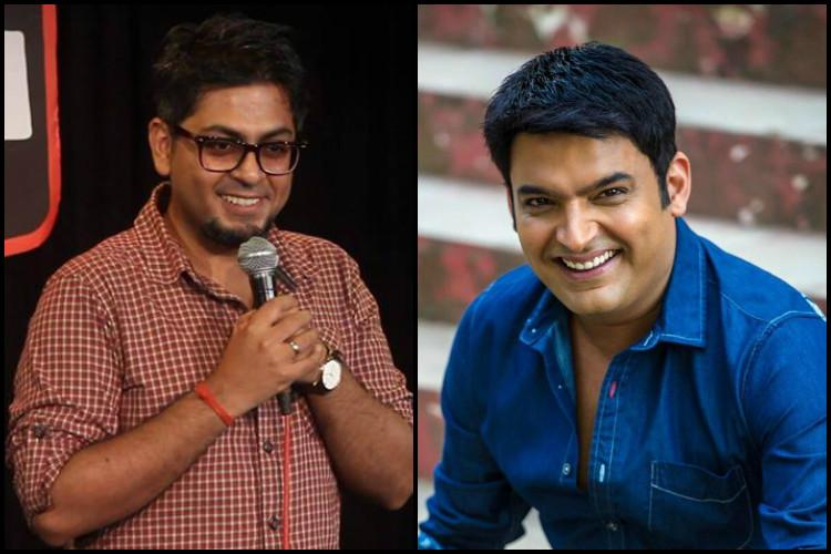 Stand-up comedian accuses The Kapil Sharma Show of copying a joke hes performed for 3 years