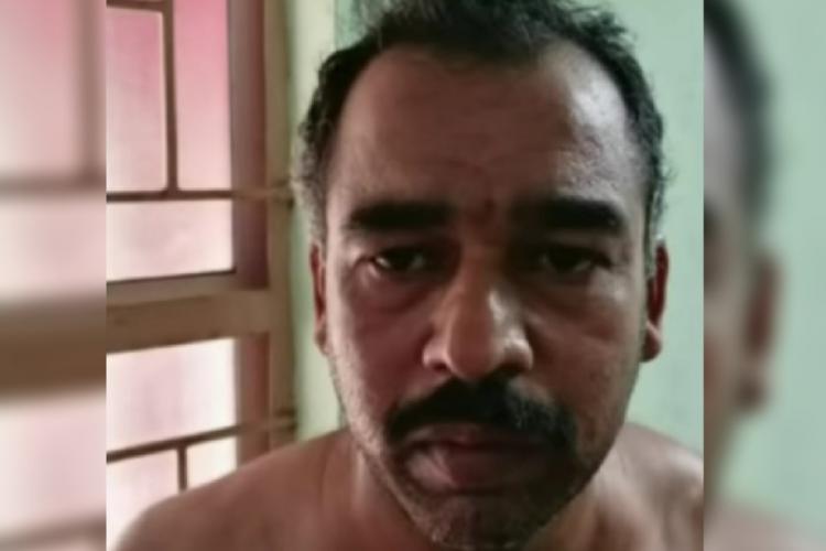 The accused Suresh Rajan