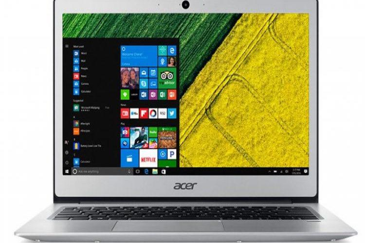 Acer announces a range of snappy Notebooks in its Swift Switch series