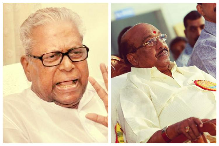 War of words between VS Achutanandan and Vellapally Natesan over alleged bribe money