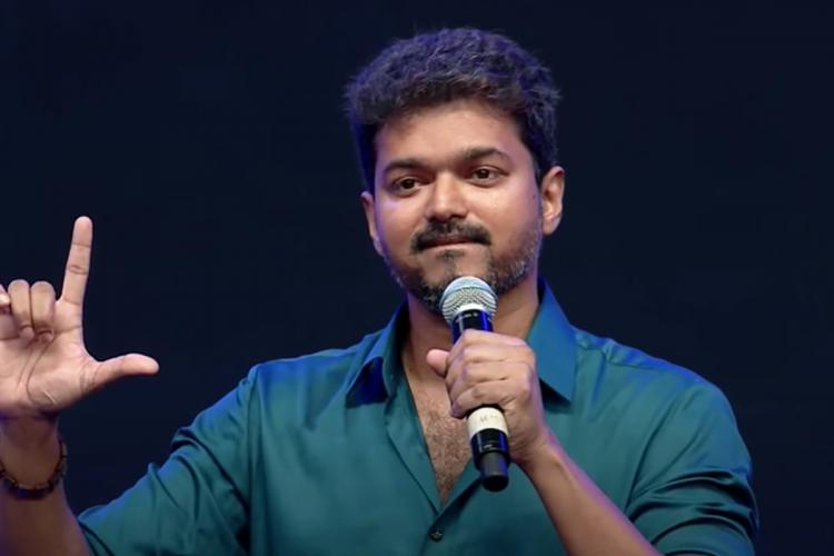 Vijay says he has no connections with political party registered by his father